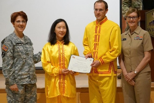 USA: Anerkennung für die Beiträge der Falun Gong-Praktizierenden in ...