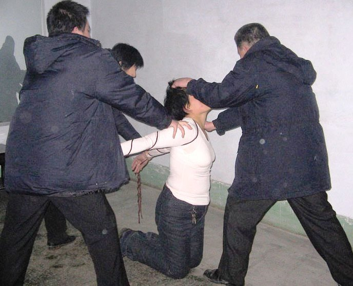 Fesseln Foltern